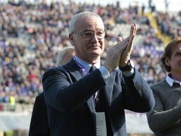 Ranieri durante un acto