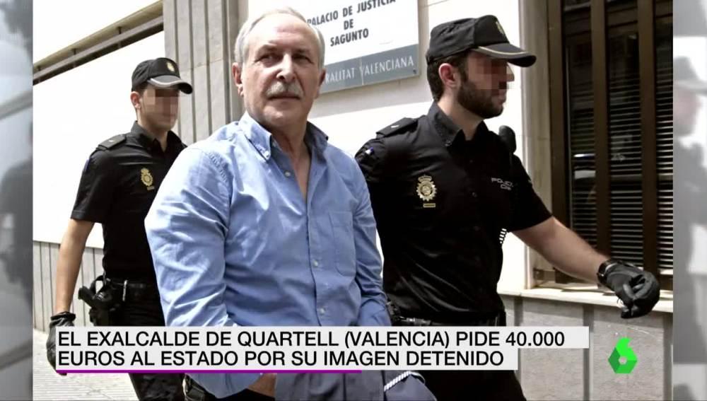 La imagen por la que el exalcalde de Quartell pide 40.000 euros