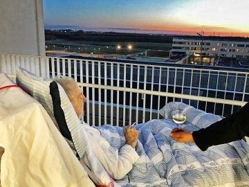 Un cigarro y una copa de vino, el último deseo de Carsten Flemming antes de morir