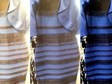 Famoso vestido que se percibe en diferentes colores