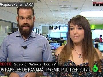 Nacho Calle y Verónica Ramírez