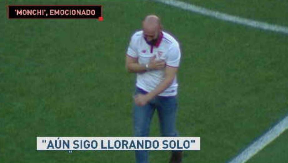 Monchi despedida Sevilla
