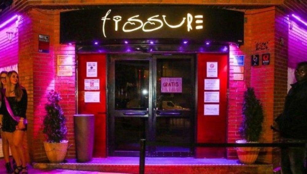 Discoteca Fissure, protagonista de la polémica