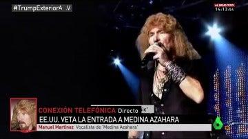 Manuel Martínez, vocalista de Medina Azahara