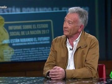 Gustavo Garcia en El Intermedio