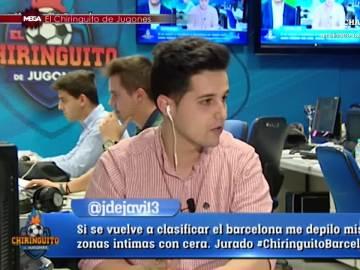 Fermín en El Chiringuito