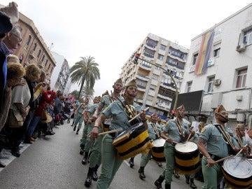 Desfile de los legionarios