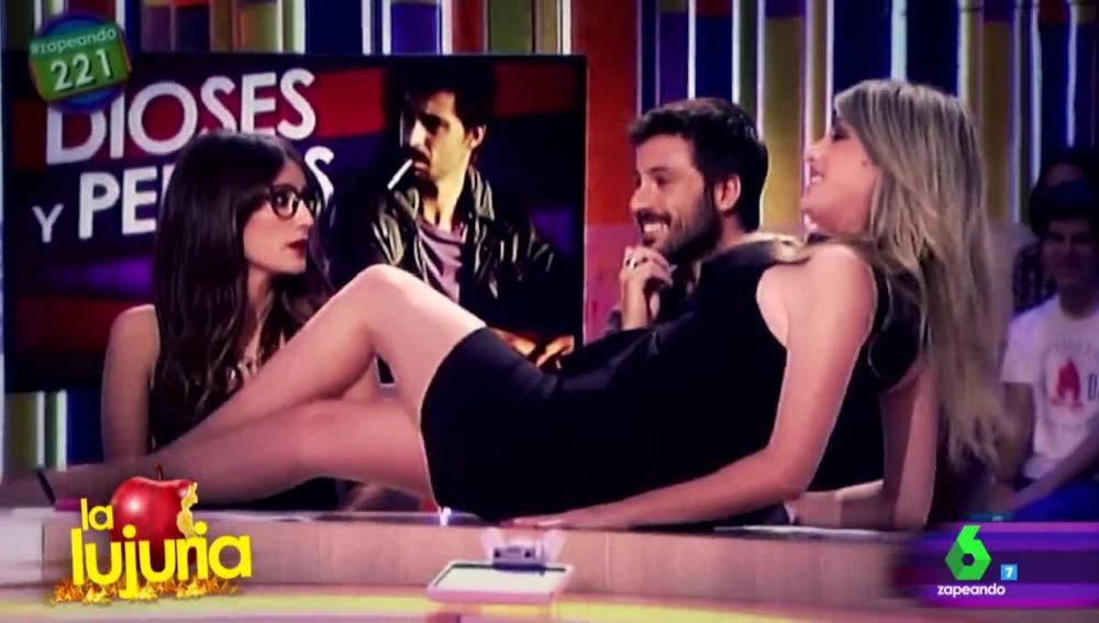 Ana Morgade, Anna Simon y Hugo Silva