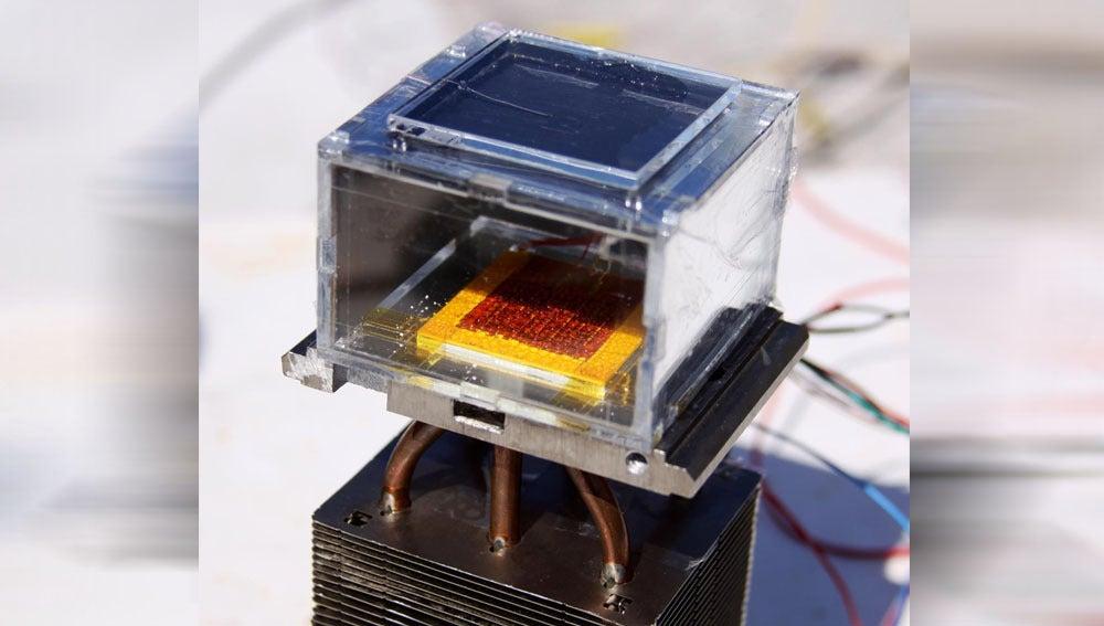 Prototipo de la cosechadora solar