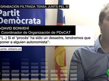 """Frame 15.80975 de: El PDeCAT llevará a la fiscalía la filtración sobre el candidato """"autonomista"""" que propone su 'número dos' si fracasa el referéndum"""