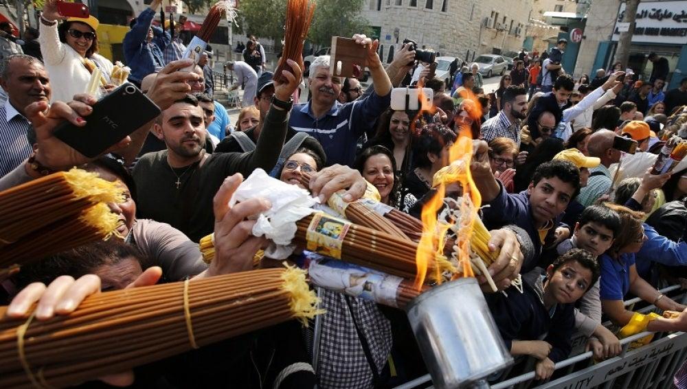 Jerusalén refuerza la seguridad por las celebraciones de Semana Santa