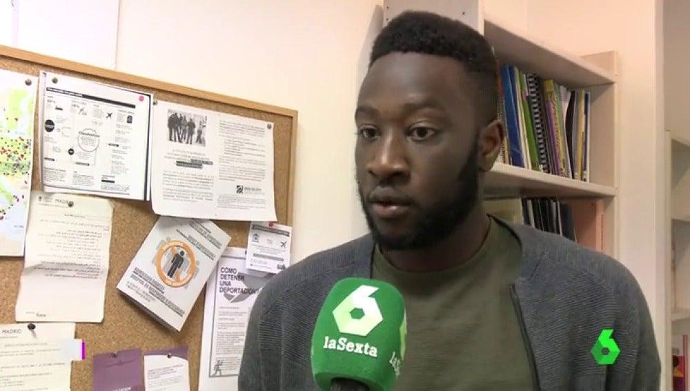 Mohamed Gerehou, presidente de SOS Racismo en Madrid