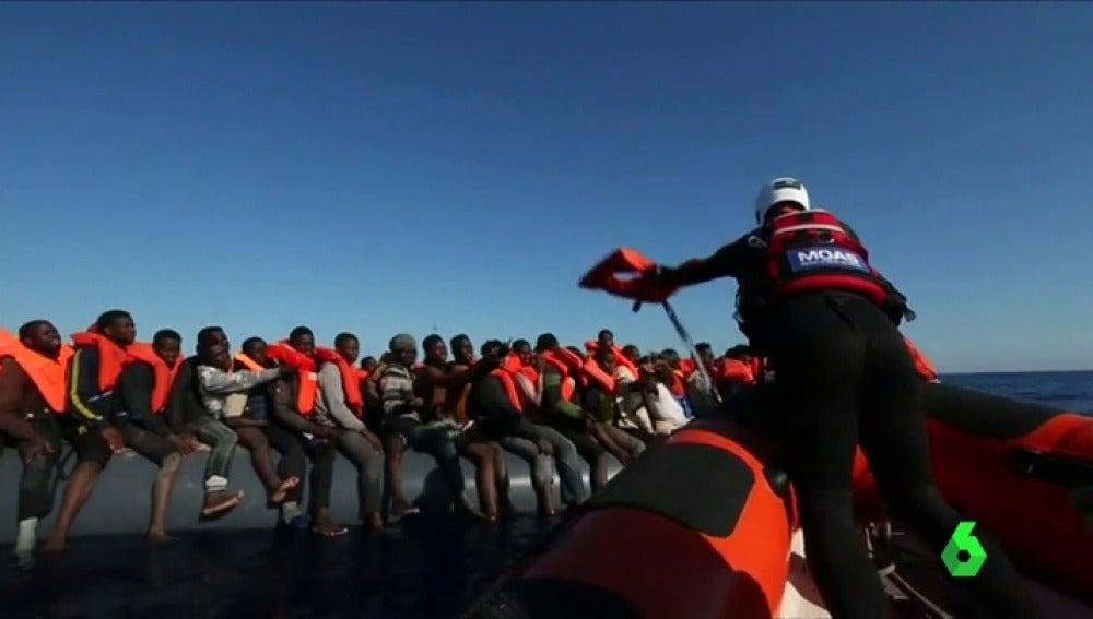 Más de 2.000 migrantes han sido rescatados en las últimas 24 horas en el Mediterráneo