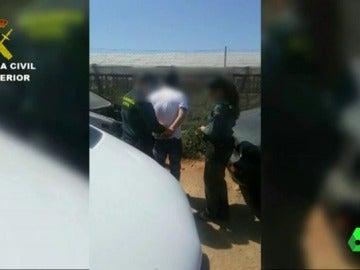 Hombre detenido por maltratar a sus perros