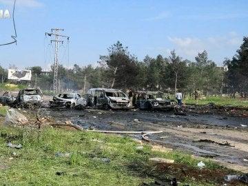 Convoy humanitario atacado en el este de Alepo