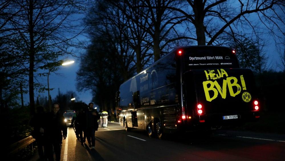 El autobús del Borussia Dortmund