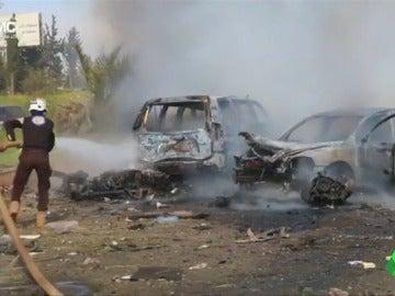 Ascienden a 112 los muertos tras el ataque con coche bomba en Alepo