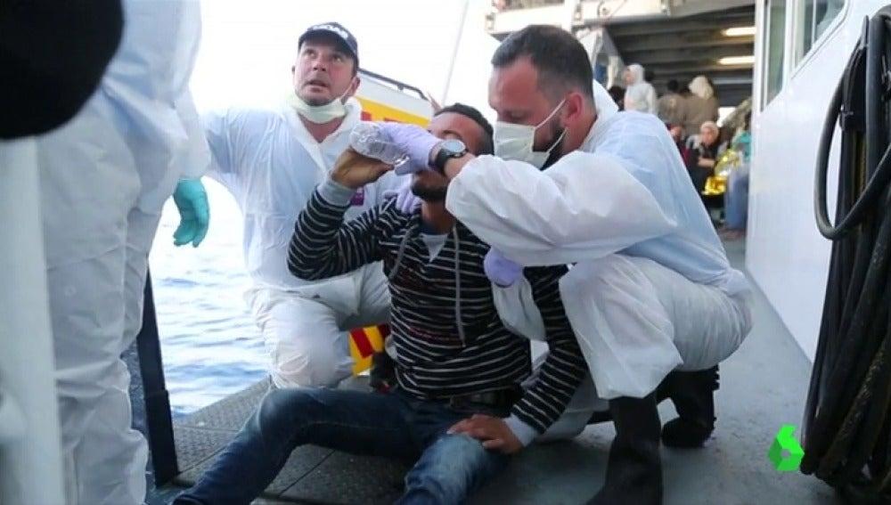 Rescatados más de 1500 migrantes en aguas del Mediterráneo