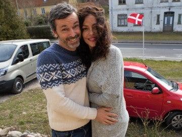 Patricia Pérez y Luis Canut, una pareja muy natural