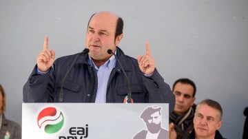 El presidente del PNV, Andoni Ortuzar