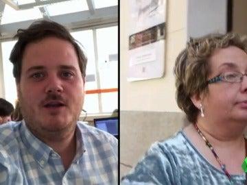 Myriam y Pablo se someten a un programa para bajar de sus más de 100 kilos