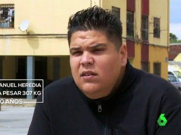 Juan Manuel, el hombre más obeso de España