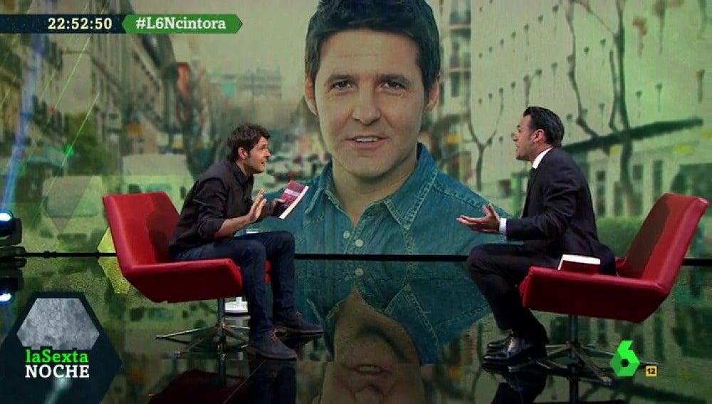 Jesús Cintora e Iñaki López