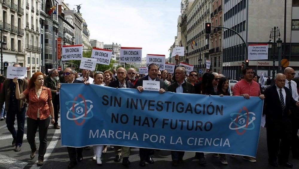 Más de 500 ciudades en todo el mundo participan en la 'marcha por la ciencia'