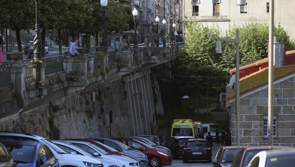 Muro en Vigo