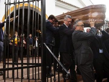 Alberto Ruiz-Gallardón en el funeral de José Utrera Molina