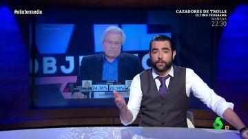 Frame 171.137721 de: La explicación de Dani Mateo sobre la 'confusión' de Javier Nart y Albert Rivera en directo El Objetivo