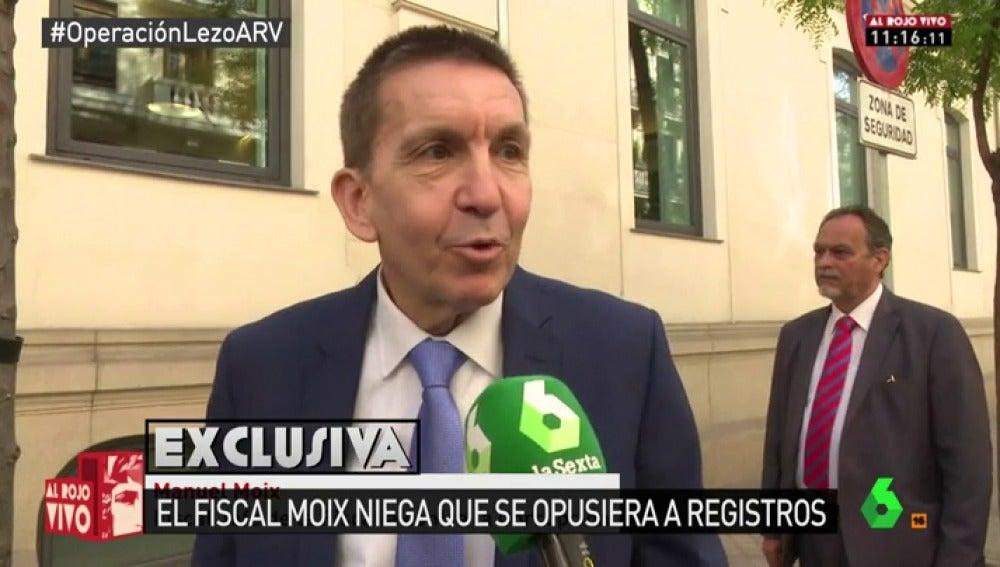 "Frame 48.910232 de: Manuel Moix, fiscal jefe de Anticorrupción: ""No me opuse a ningún registro de la 'Operación Lezo'"""