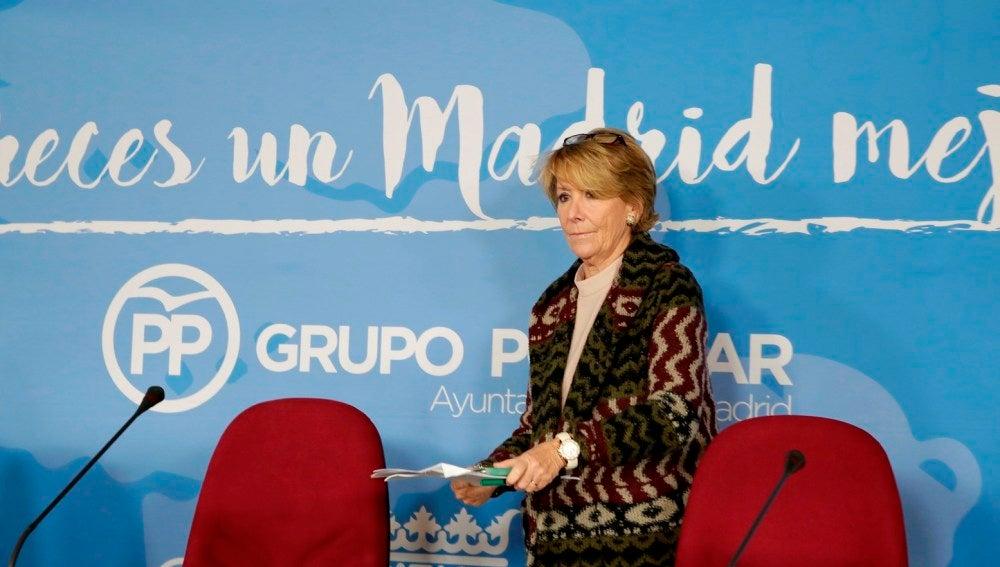 Esperanza Aguirre en una imagen de archivo