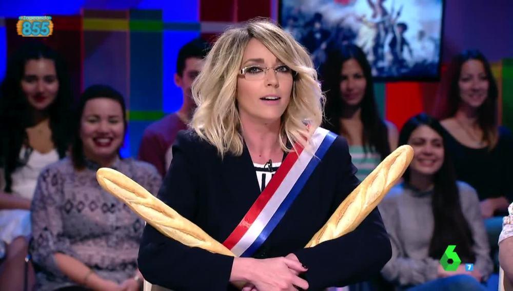 Anna Simon encarna a Simonê Le Pen