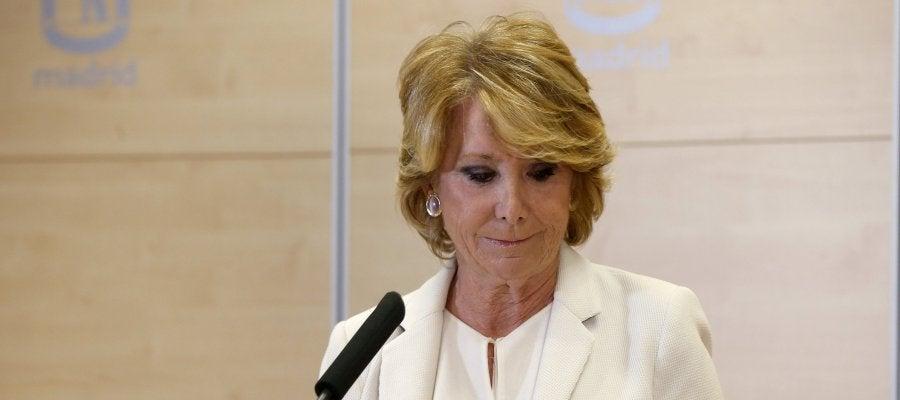 Esperanza Aguirre ayudó con subvenciones a Ildefonso de Miguel, detenido en el caso Lezo