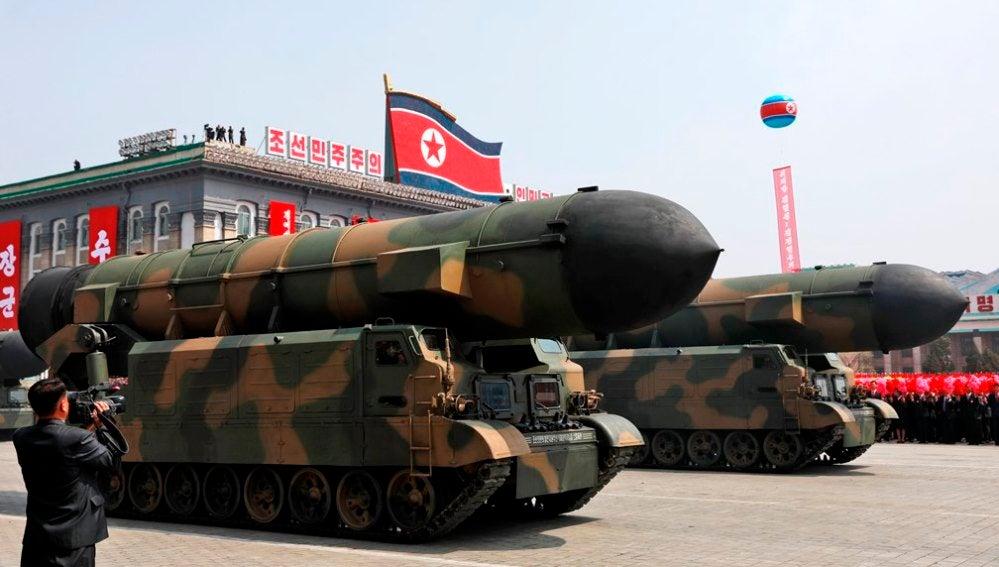 Desfile militar de Corea del Norte