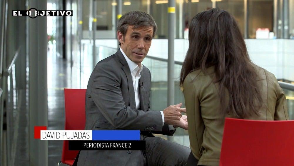 David Pujadas, periodista de France 2