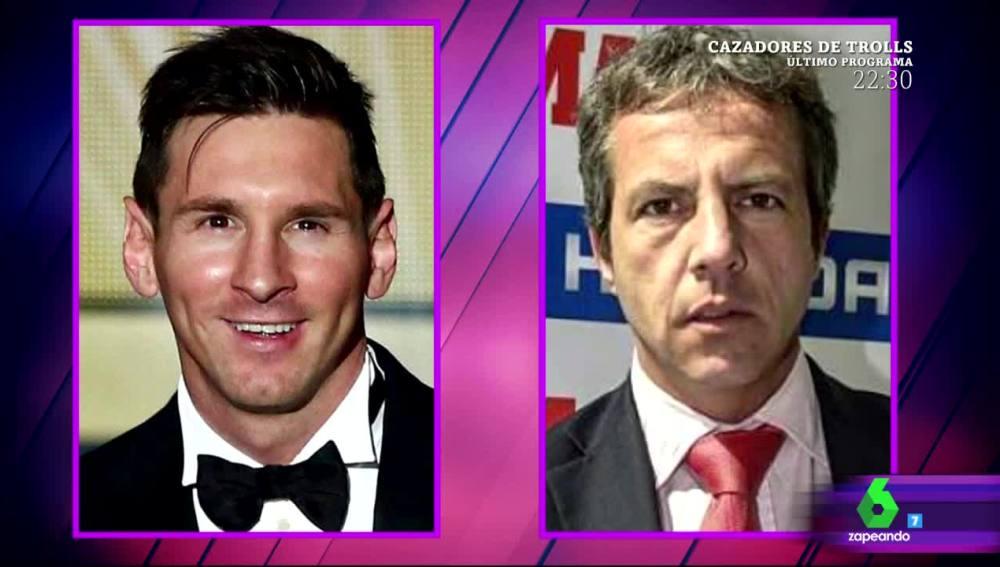 Cristóbal Soria le pide a Leo Messi que le haga un hijo