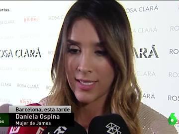 Daniela Ospina, mujer de James Rodríguez