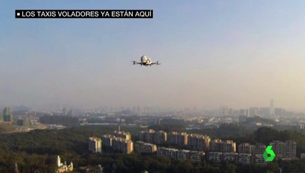Frame 25.644841 de: Los taxis voladores y autónomos ya son una realidad: Dubái asegura que el servició estará disponible en julio
