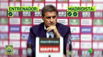 """Frame 65.328095 de: Míchel, sobre la posibilidad de fastidiar la Liga al Madrid en la última jornada: """"Soy más madridista que Valdano"""""""