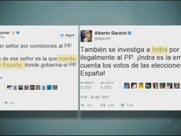 Alberto Garzón y Ramón Espinar
