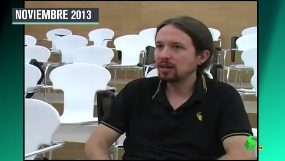 Pablo Iglesias en 2013