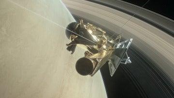 La sonda Cassini comienza su gran final en Saturno