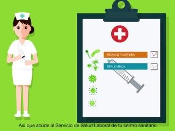 Frame 37.315264 de: Los enfermeros denuncian la imagen machista que da de ellos el Ministerio de Sanidad en un vídeo
