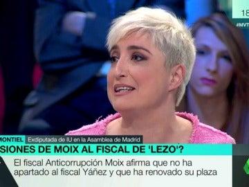 """Frame 24.037943 de: Montiel, sobre las presiones al fiscal del 'caso Lezo': """"Moix siempre ha estado trabajando para el PP como Fiscal Jefe de Madrid"""""""