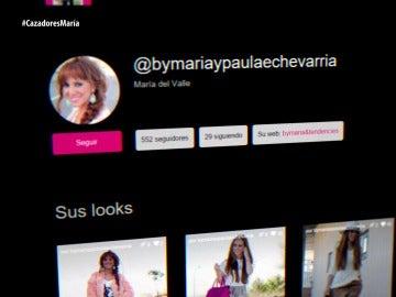 Cuenta de María del Valle enfocada en Paula Echevarría