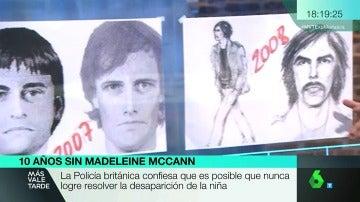 Frame 51.621111 de: ¿Se llevó alguien a Madeleine McCann? Estos son los retratos robots del hombre que pudo secuestrar a la niña