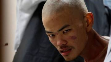 Liang Sheng Yueh después de ser rescatado