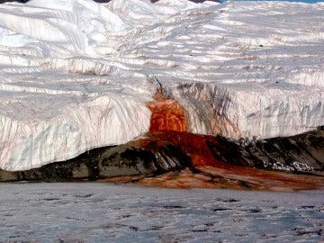 Cataratas de Sangre en la Antártida
